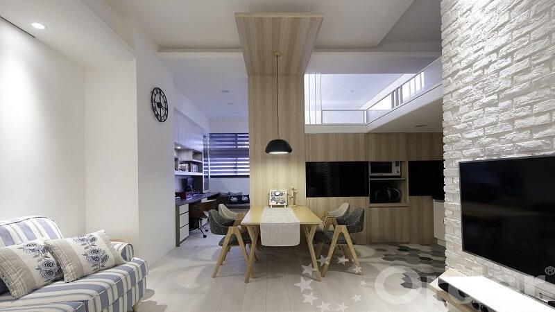 [專訪]改造夾層屋!台北 12 坪北歐輕工業新婚宅