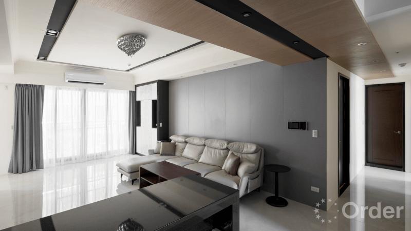 [專訪]系統傢俱創造好質感!高雄 40 坪現代鄉村風格宅