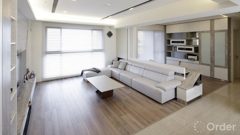 [專訪]50 坪溫馨四口宅 以系統傢俱創造現代摩登家居!