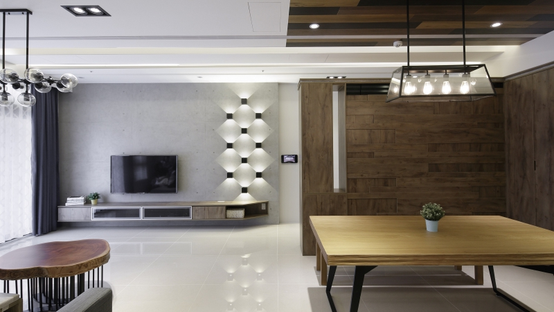 [專訪]光影的魔法!系統傢俱打造 40 坪輕工業風居家