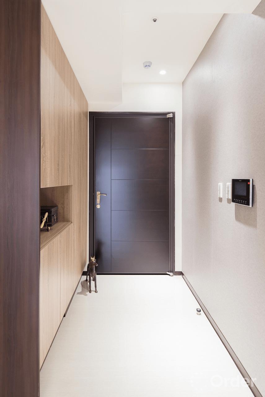 玄關裝潢室內設計歐德集團優渥實木家具