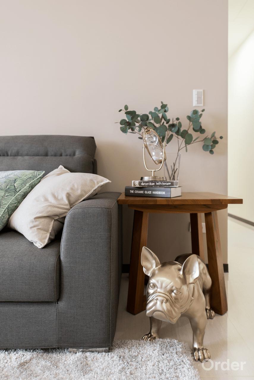 客廳裝潢室內設計歐德集團優渥實木家具