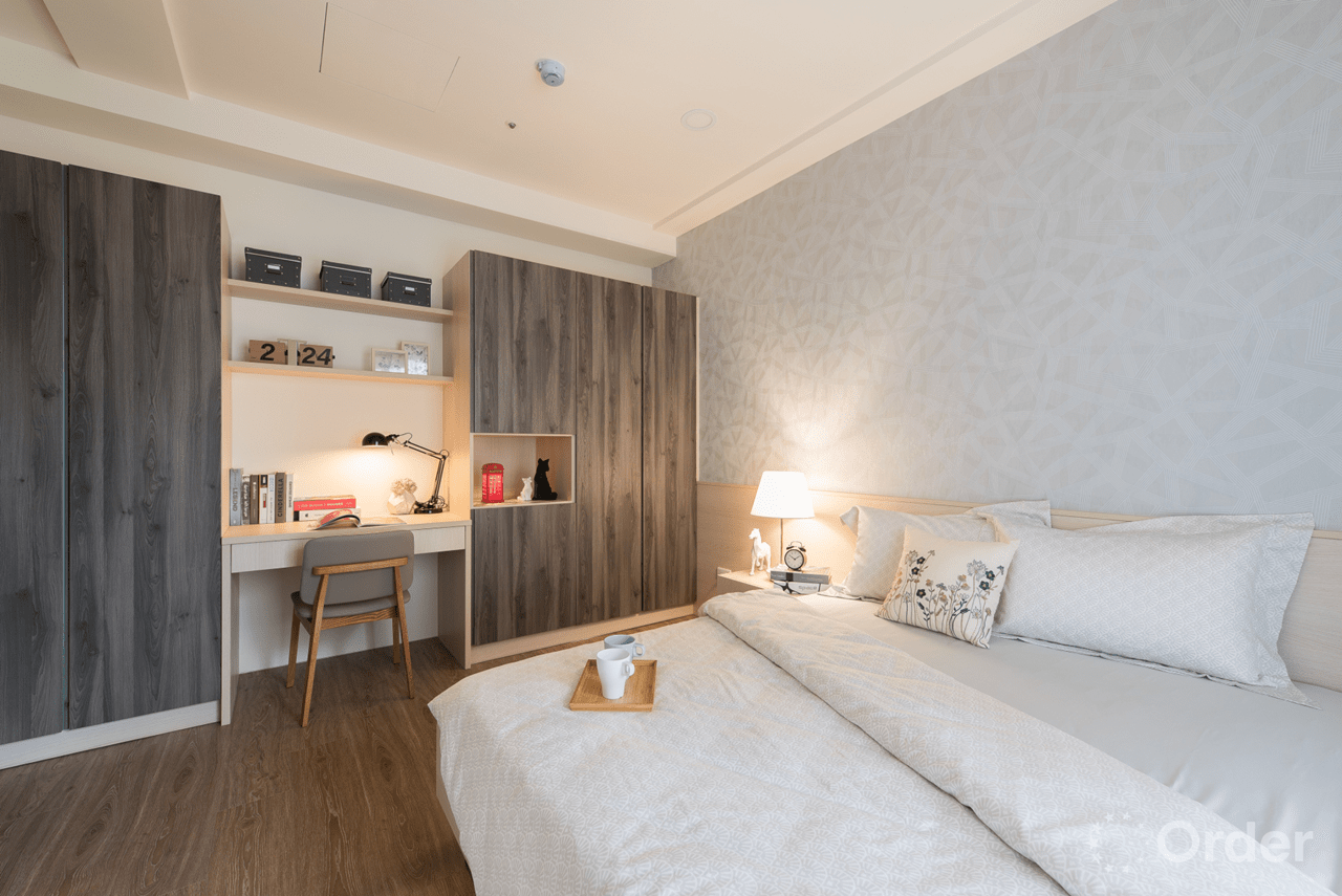 臥房裝潢室內設計歐德集團優渥實木家具