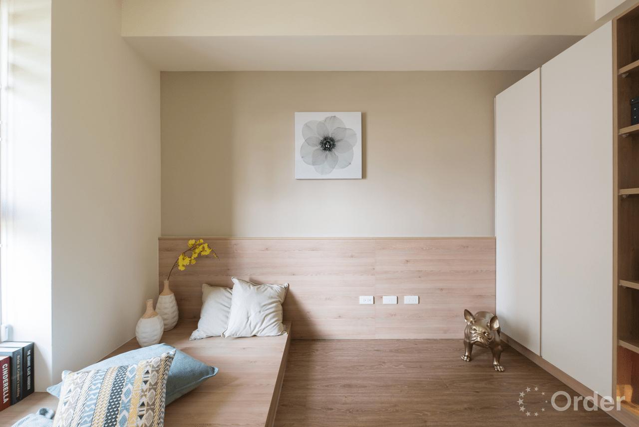 臥榻和室裝潢室內設計歐德集團優渥實木家具
