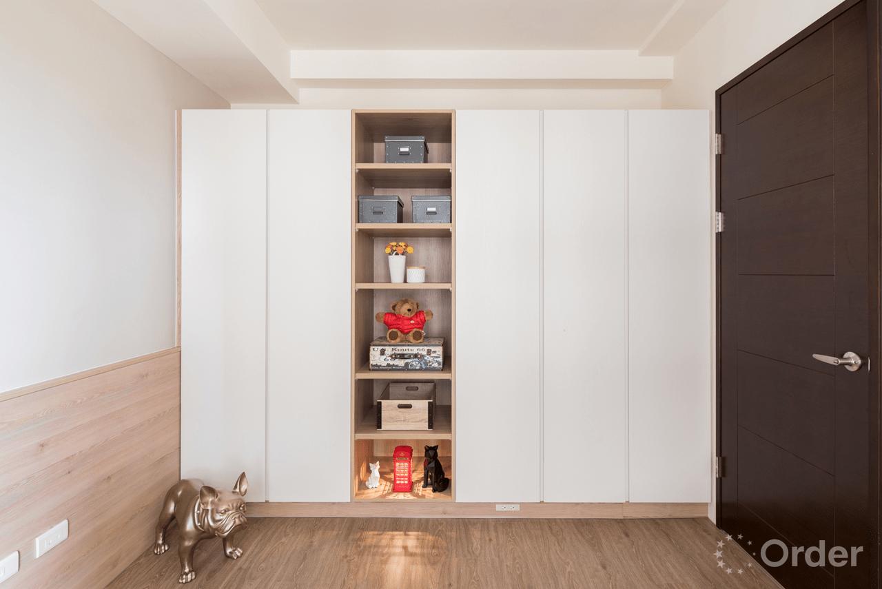 收納系統家具裝潢室內設計歐德集團優渥實木家具