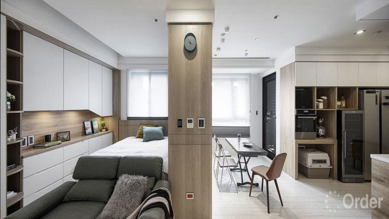 小房間設計北歐風