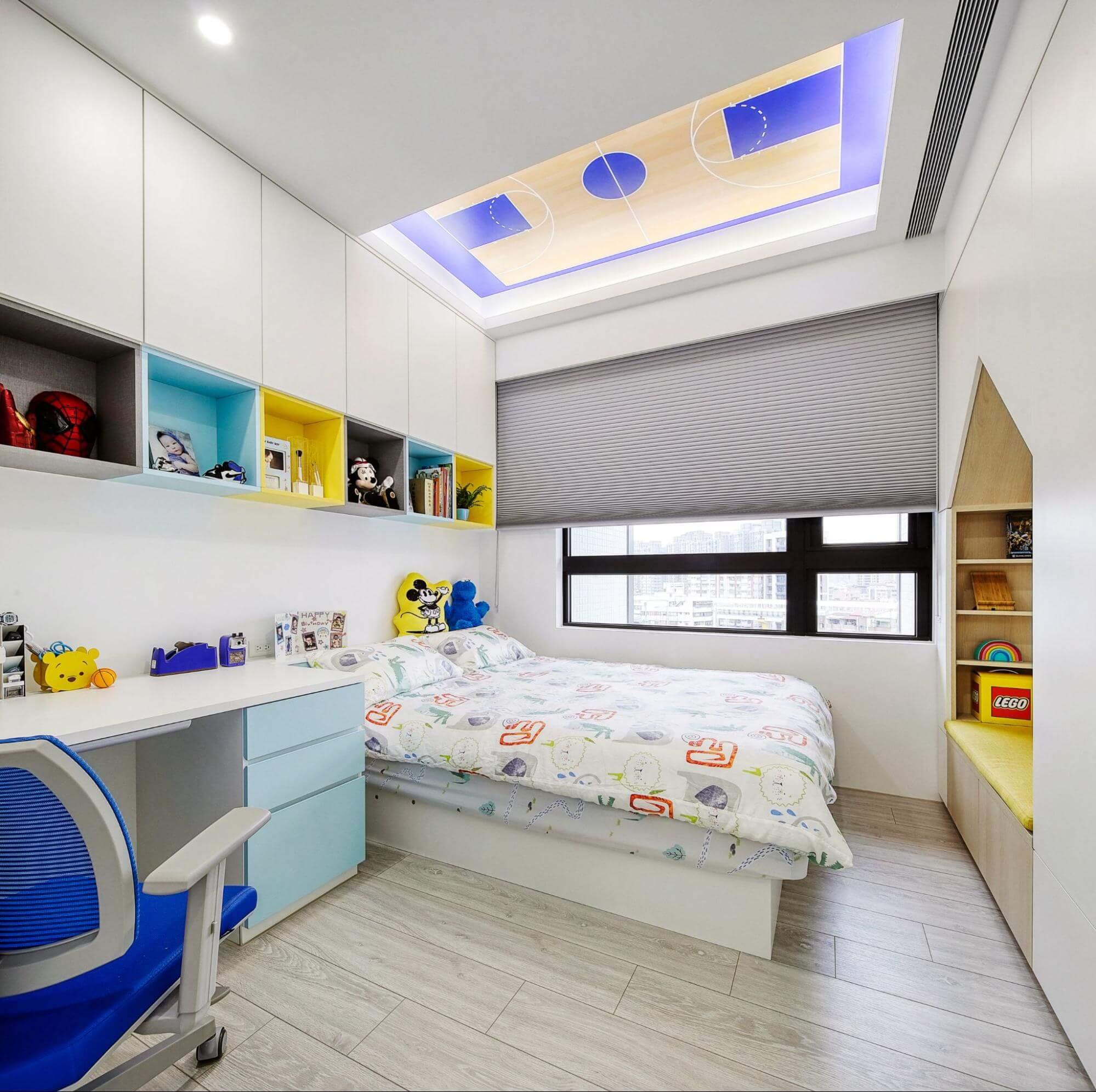 男生小孩房設計