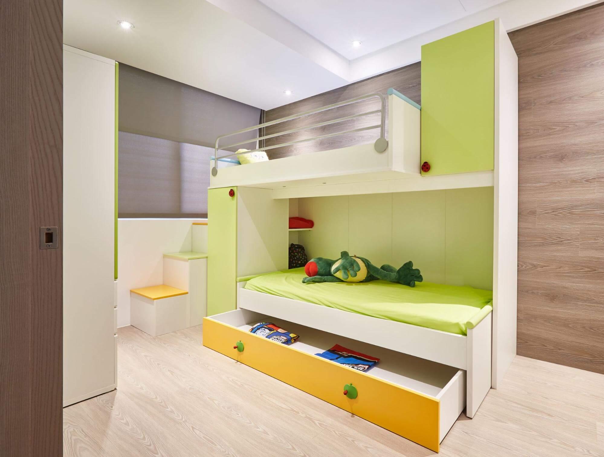 男孩兒童房設計